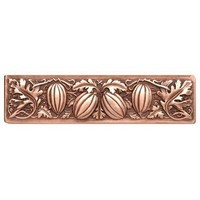 Notting Hill NHP-651-AC, Autumn Squash Pull in Antique Copper, Kitchen Garden Collection