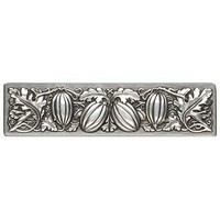 Notting Hill NHP-651-AP, Autumn Squash Pull in Antique Pewter, Kitchen Garden Collection