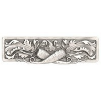 Notting Hill NHP-652-AP, Leafy Carrot Pull in Antique Pewter, Kitchen Garden Collection