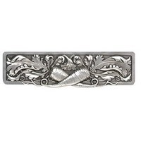 Notting Hill NHP-652-BP, Leafy Carrot Pull in Brilliant Pewter, Kitchen Garden Collection