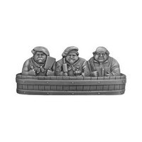 Notting Hill NHP-663-AP, Rub-A-Dub Pull in Antique Pewter, Fun in the Kitchen Collection