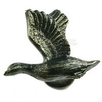 Sierra Lifestyles 681247, Knob, Mallard Knob, Bronzed Black, Rustic Lodge Collection
