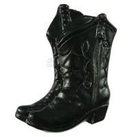 Sierra Lifestyles 681252, Knob, Boots Knob - Black, Western