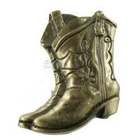 Sierra Lifestyles 681253, Knob, Boots Knob - Antique Brass, Western Collection