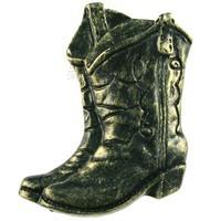 Sierra Lifestyles 681255, Knob, Boots Knob, Bronzed Black, Western Collection