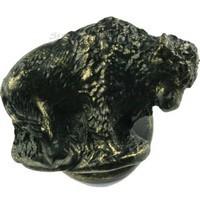 Sierra Lifestyles 681286, Knob, Buffalo Knob, Left Facing, Bronzed Black, Western