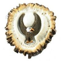 Sierra Lifestyles 681355, Knob, Deer Burr Knob, Eagle Front, Rustic Lodge Collection