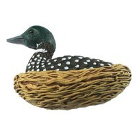 Sierra Lifestyles 681362, Knob, Loon Knob, Resin, Rustic Lodge Collection