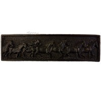 Sierra Lifestyles 681593, Pull, Running Horse Pull - Black, Western Collection