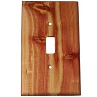 Sierra Lifestyles 682125, Switchplate, Traditional, 1 Toggle, Juniper Plate