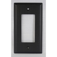 WW Preferred SZBH11-ORB, Single Rocker/Decorator Plate, Oil-Rubbed Bronze, Builders Hardware Collection