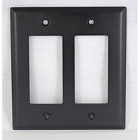 WW Preferred SZBH18-ORB, Double Rocker/Decorator Plate, Oil-Rubbed Bronze, Builders Hardware Collection