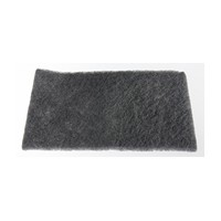 WW Preferred 0585450600961 60 Abrasive Hand Pads, Non-Woven, Gray, 6 x 9in