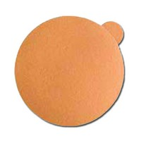 Pacific Abrasives PSA 5 120 PASCO GOLD DWT, Abrasive Discs, Aluminum Oxide on A-Weight Paper, 5in, No Hole, PSA, 120 Grit