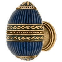 Emenee FAB1000-RG, Knob, Faberge Easter Egg, Russian Gold