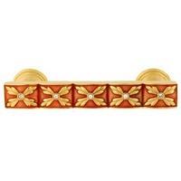 Emenee FAB1008-MG, Handle Pull, Faberge Parasol, Museum Gold