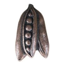 Emenee LU1228WPE, Knob, Peas, Warm Pewter