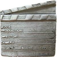 Emenee LU1239POL, Knob, Director'S Slate, Polished Silver
