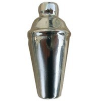 Emenee LU1253POL, Knob, Martini Shaker, Polished Silver