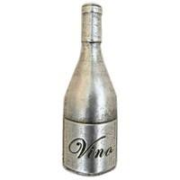 Emenee LU1257GUN, Knob, Wine Bottle, Gun Metal