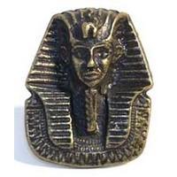 Emenee MK1004AMS, Knob, Sphinx, Antique Matte Silver