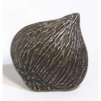 Emenee MK1008ABR, Knob, Onion, Antique Matte Brass