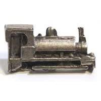 Emenee MK1087AMS, Train Knob, Antique Matte Silver
