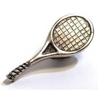 Emenee MK1089ABR, Knob, Tennis, Antique Matte Brass