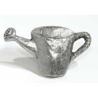 Emenee MK1094AMS, Knob, Watering Can, Antique Matte Silver
