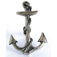 Emenee OR205AMS, Knob, Anchor, Antique Matte Silver