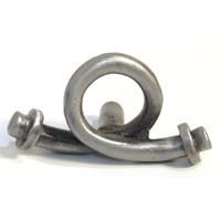 Emenee OR324ABR, Knob, Solid Open, Antique Matte Brass
