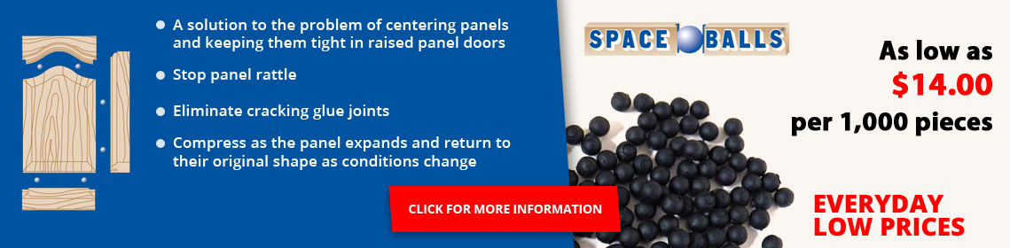 Stop panel rattle and eliminate cracking glue joints with Spaceballs