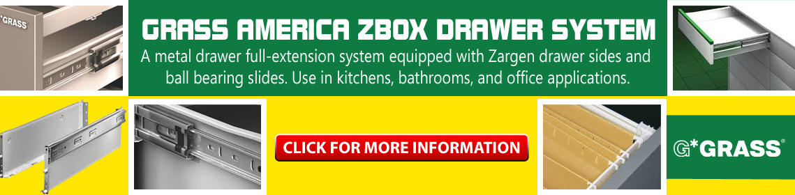 Grass America ZBox Drawer System