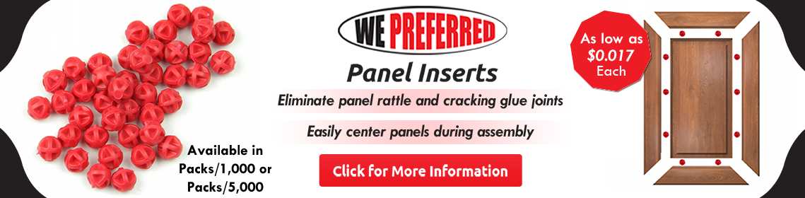 WE Preferred Panel Inserts - As low as $0.017 each