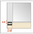 Pocket Door Magentic Kit for Door and Structure