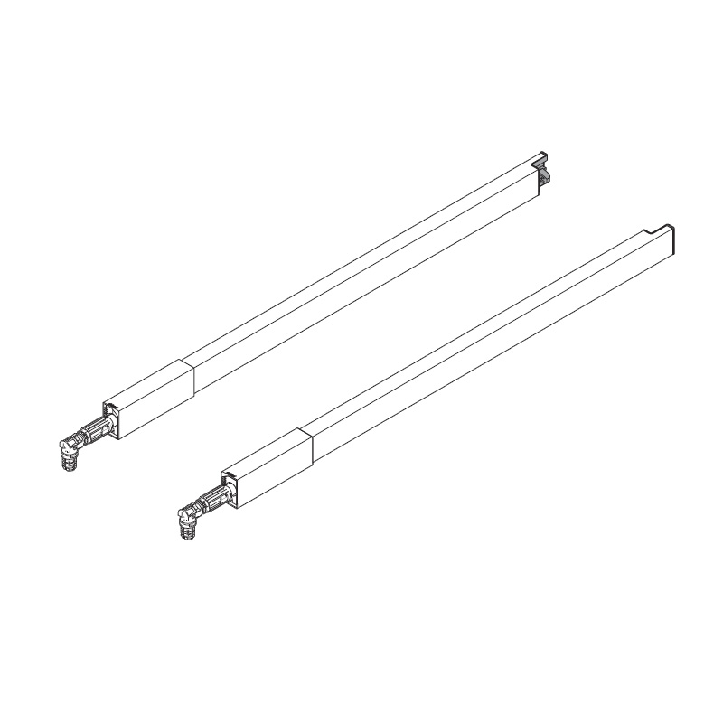 TANDEMBOX Center Gallery Rails