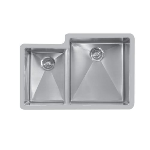 Karran Sinks Acrylic Edge Stainless Steel Quartz