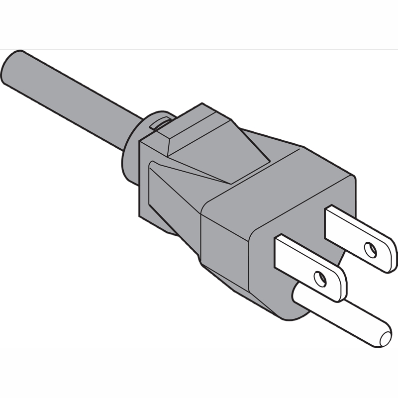 "Blum Z10M200U, SERVO-DRIVE Power Cord with Plug, 78"", Plastic, 1 Each :: Image 10"