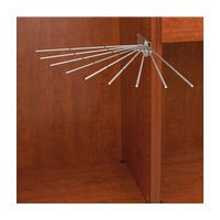 Rev-A-Shelf CPRF-16SN-52 - Wire Fan Pants Rack, Satin Nickel :: Image 10