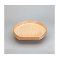 Rev-A-Shelf LD-4NW-201-20BS-8 Bulk-8, 20in Wood D-Shape Lazy Susan, Natural Wood Series, 1-Shelf with 7in Aluminum Swivel Bearing with Stop :: Image 10