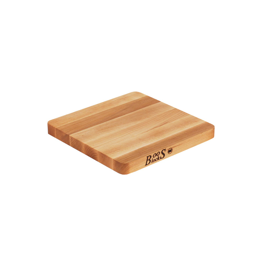 John Boos 215 10 L Cutting Board, Chop-N-Slice Collection, Maple, Size 10 L x 10 W x 1-1/4 Thick :: Image 10
