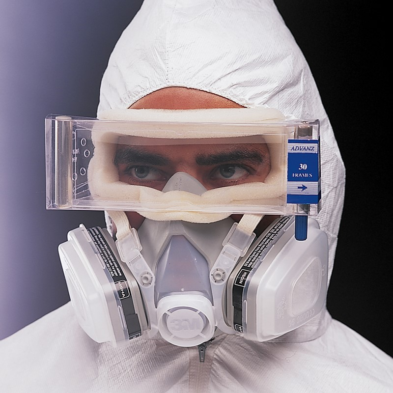 Clear Lens Anti-Fog Safety Disposable Goggles, Respirator Fit, Northern Safety 2845::Image #20