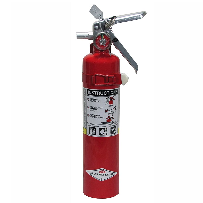 Northern Safety 3423 Fire Extinguisher, 2.5 Lb with Vehicle Bracket :: Image #10