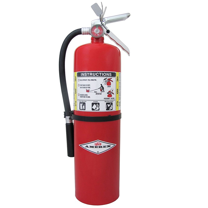 Northern Safety 3426 Fire Extinguisher, 10 Lb with Wall Bracket :: Image #10