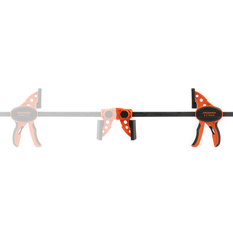 """Pony Jorgensen 33424, 24"""" One Handed E-Z Hold Clamp, Throat Depth 3-1/3"""", Clamping Force 300 lb :: Image 90"""