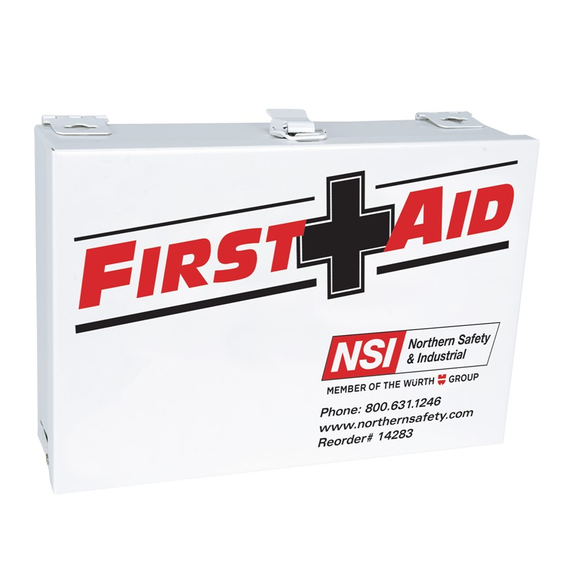 Northern Safety 14283 25 Person First Aid Kit, ANSI & OSHA Standard Compliant, Steel Case :: Image # 10