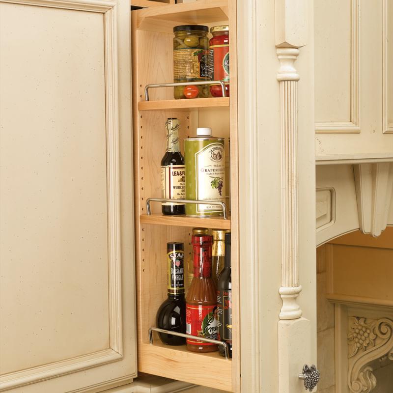 """Rev-A-Shelf 432-WF-6C, 6"""" Wall Cabinet Filler with Adjustable Shelves :: Image 20"""