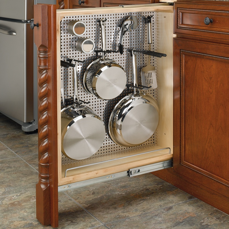 """Rev-A-Shelf 434-BF-6SS - 6"""" Base Filler Stainless Steel Pullout :: Image 40"""