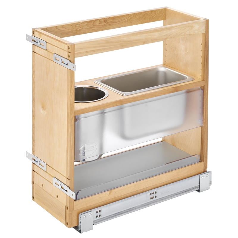Rev-A-Shelf 445-VCG20SC-8, 8in W x 20-1/4in H Vanity Base Cabinet Organizer Pull-Out :: Image 10