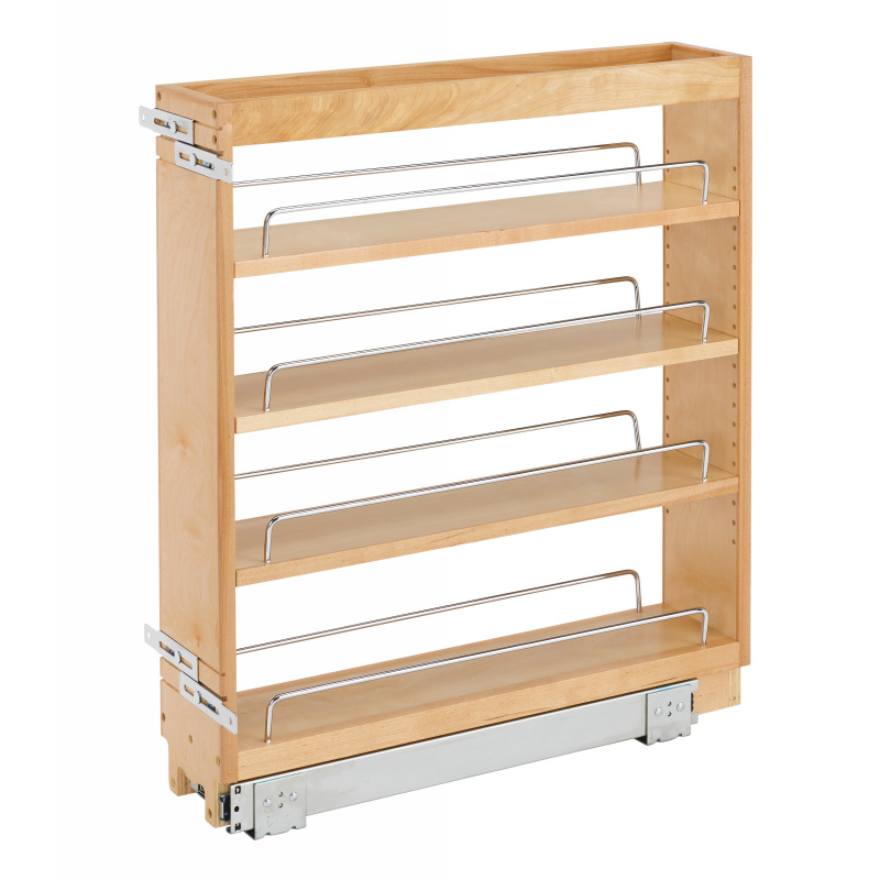 Rev-A-Shelf 448-BC-5C, 5in Base Cabinet Organizer with Standard Close :: Image 10